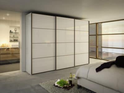 Шкаф-Купе в спальную комнату Подвесная система открывания