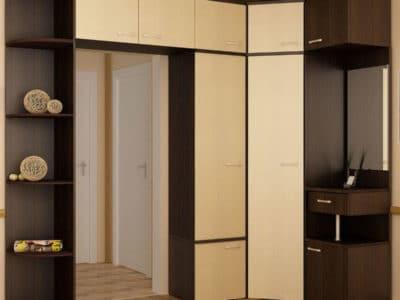 Шкаф-Угловой с проходной Дверью